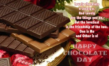 Happy Chocolate day Images Chocolate day wishes messages and