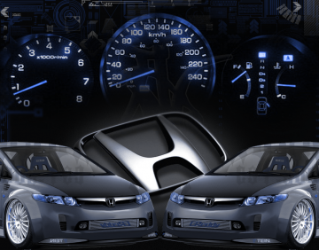 cool wallpapers Honda civic Wallpapers