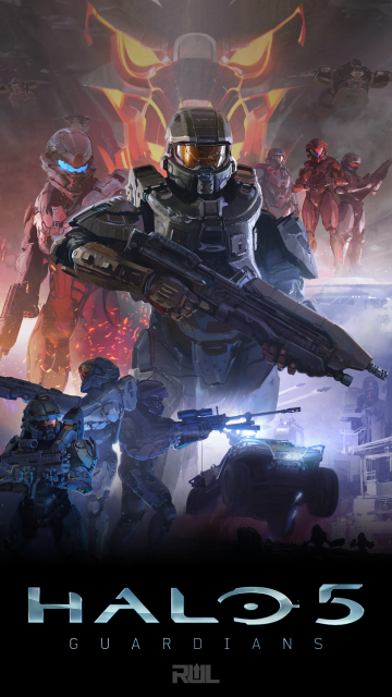 Halo 5 Phone Wallpapers Profile Pics and More Ready Up Live
