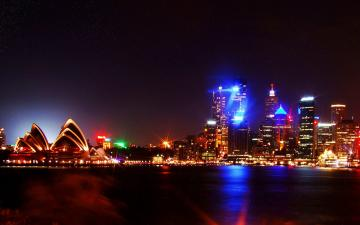 High Definition Sydney Night Lights Wallpaper Travel HD Wallpapers