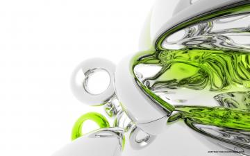 White 3D wallpapers White 3D background   Page 10