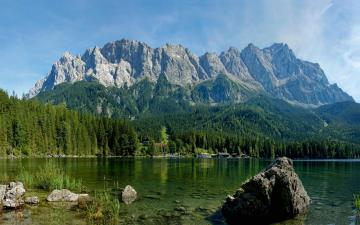 wallpapers wallpaper nature water background mountains scenery