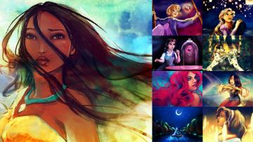 Ten Cool Disney Princess Fanart Galleries