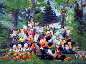 YouWall   Disney Group Wallpaper   wallpaperwallpapersfree wallpaper