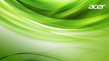 acer acer wallpaper green wallpaper screensaverjpg