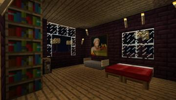Minecraft Nikolas Bedroom by MineCrapCreators