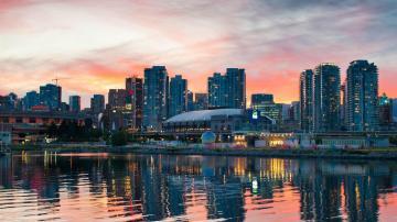 Vancouver Canada City photography wallpaper HD 1080p Wallpaper