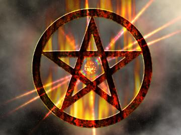 Wiccan Pentagram Wallpaper PicsWallpapercom