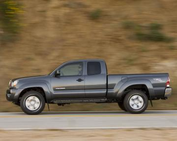 Please right click on the Toyota Tacoma wallpaper below and choose