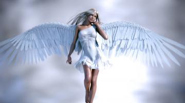 free 1920X1080 Angel 3D 1920x1080 wallpaper screensaver preview id