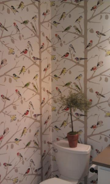 whimsical bird motif Wallpaper Pinterest