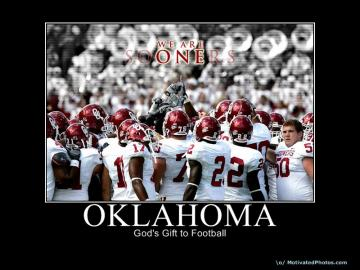 Its my blog Oklahoma Sooners