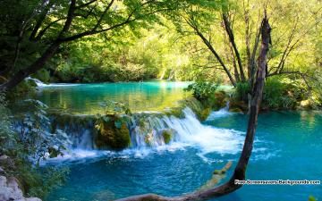 in Plitvice National Park Croatia   Screensavers and Backgrounds