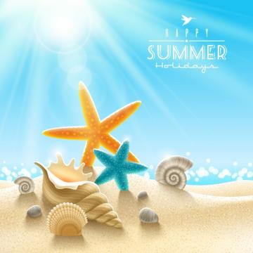 Beach Theme Background Graphics Collection My Photoshop