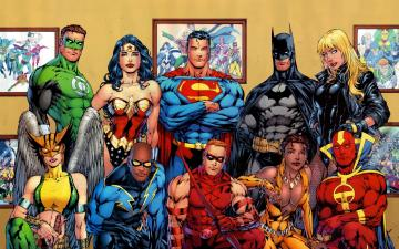 dc comics wallpaper background
