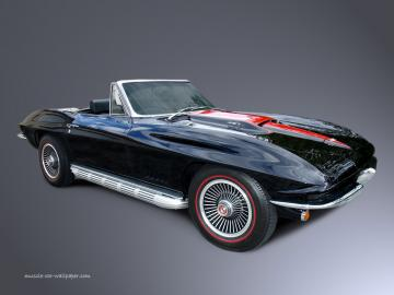 Corvette Wallpaper   1967 Corvette Convertible 1024x768 07