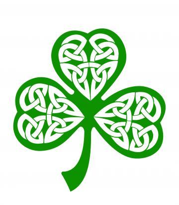 Irish Shamrocks Iphone Wallpaper Background And
