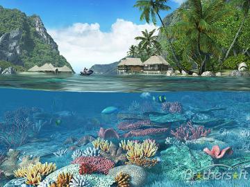 Download Caribbean Islands 3D Screensaver Caribbean Islands 3D