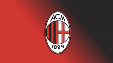 hd wallpaper AC Milan FC Football Logo FREE 4U WALLPAPERS