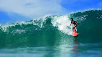 Ocean sea waves surfing d wallpaper 1920x1080 176973 WallpaperUP