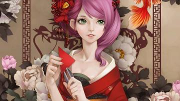 Geisha wallpaper   798353
