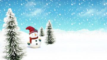 Christmas Snowman Wallpaper 1920x1080 8734 Wallpaper Cool