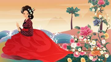 Geisha HD 1366x768