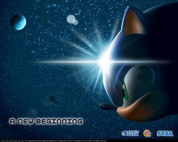 cool new sonic Sega Wallpapers