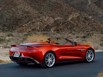 2014 Aston Martin Vanquish Volante US spec supercar fi wallpaper