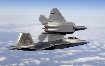 FA 22A Raptor fighters Wallpapers HD Wallpapers