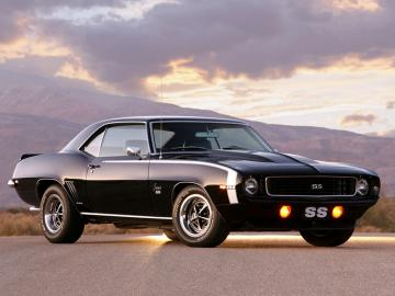 Chevrolet Wallpapers Chevrolet Camaro SS 396 1969 Wallpapers