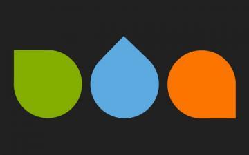 Green Blue Orange Wallpaper Walltor