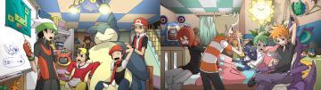 Pokemon Dual Wallpaper 2560x720 Pokemon Dual Screen