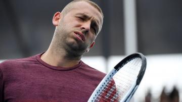 Australian Open 2020 Dan Evans defeated in straight sets Novak
