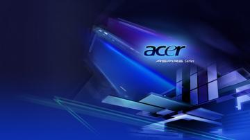 Acer Aspire Blue Logo Wallpaper Desktop 7570 Wallpaper