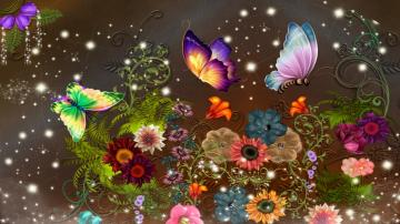 Colorful Butterfly Wallpapers 2 Widescreen Wallpaper Wallpaper