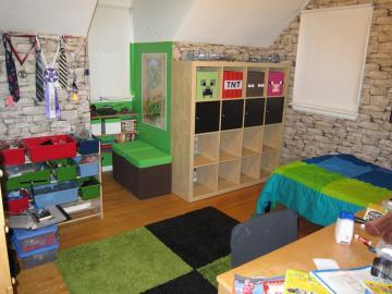Minecraft Themed Bedroom
