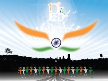 GRAAFIXBLOGSPOTCOM Indian Flag Wallpapers