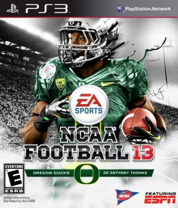 NCAA Football 13 Cover