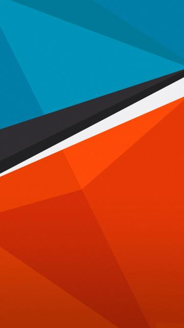 HTC One Wallpapers Blue orange android wallpaper Android Wallpapers
