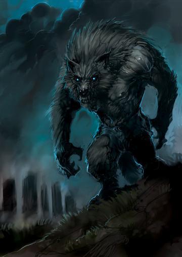 Night Werewolf by zoppy