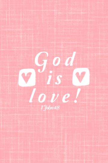 God Is Love Valentine Wallpaper