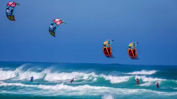 Kite Surfing Kiteboarding Adventure Sports HD Wallpapers