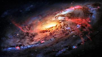 Download 3840x2160 Space Flight Sky Stars Wallpaper Background 4K