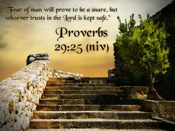 Christian Wallpapers Proverbs 29 25jpg
