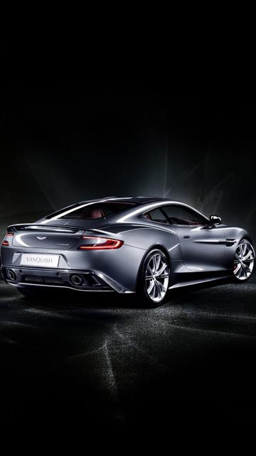 2014 Aston Martin Vanquish 04 Green S5 Wallpaper Samsung Galaxy S5