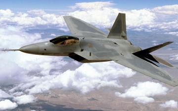 Download Lockheed Martin F 22 Raptor wallpaper
