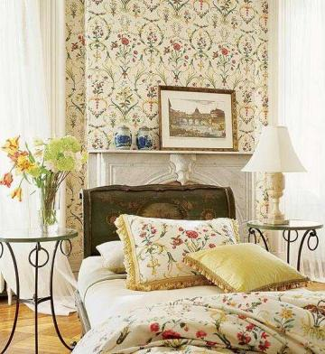 bedroom wallpaper decorating ideas 9