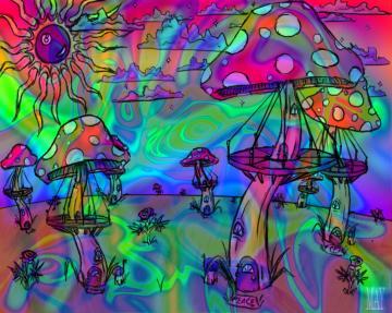 wallpaper1024x768trippy free desktop backgrounds psychedelic