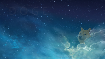 Doge in the sky   Doge Wallpaper 1920x1080 86582